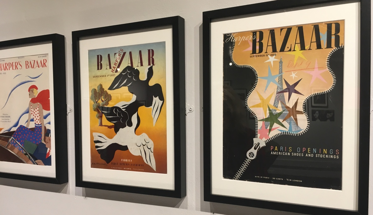 A Nostalgic Exhibition of Fashion's First Magazine